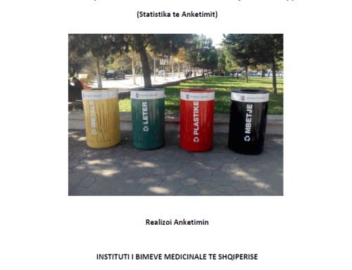 Survey on Public Evaluation of Waste Management in Albania